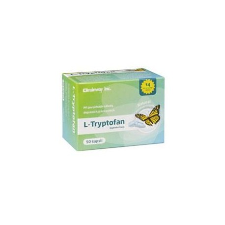 L-Tryptofan 60cps Brainway Ostatní 23805id