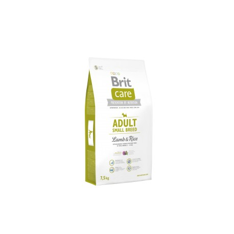 Brit Care Dog Adult Small Breed Lamb & Rice 7,5kg Brit Care 76637id