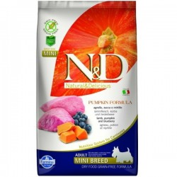 N&D GF DOG Adult Mini Lamb & Blueberry 7kg